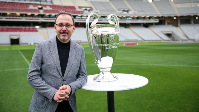 Bakan Kasapoğlu açıkladı: Şampiyonlar Ligi finaline hazırız