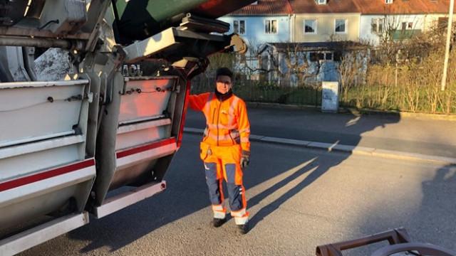 İsveçli eski Belediye Başkanı çöpçü oldu
