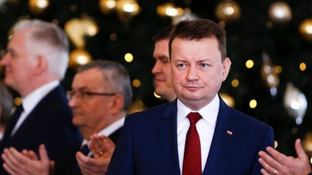 Polonya Savunma Bakanı Mariusz Blaszczak'tan Türk ordusuna övgü