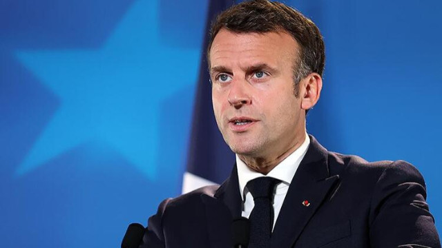 Fransa Cumhurbaşkanı Macron, Paris ile Ankara arasındaki gerilimin son haftalarda azaldığını söyledi