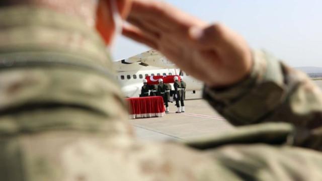 Zeytin Dalı bölgesinde 3 asker şehit!