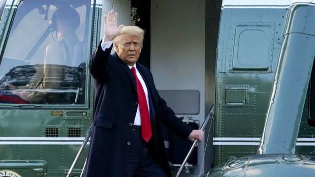 Trump aylar sonra sert konuştu! Biden'a ve Çin'e yüklendi!