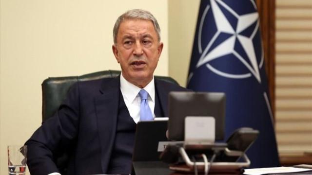 Bakan Akar açıkladı: ABD heyeti bakanlığımıza geldi