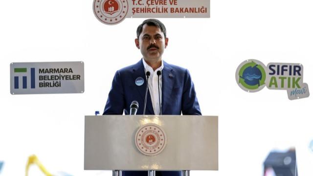 Bakan Kurum'dan 'müsilaj' açıklaması