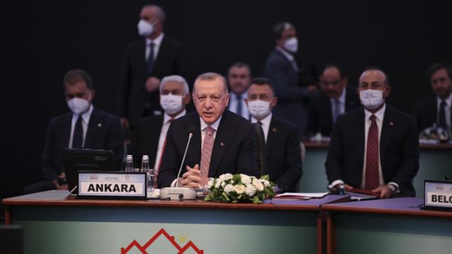 Erdoğan: AB'nin çekim ve güç merkezi olması mümkün değil