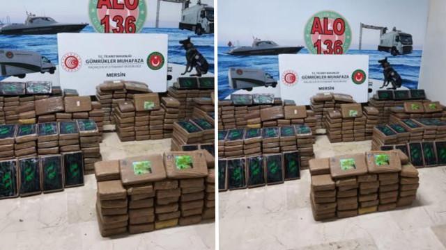 Ticaret Bakanı duyurdu: Mersin Limanı'nda 463 kilo kokain ele geçirildi