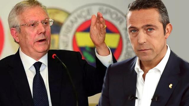 Fenerbahçe'de Ali Koç, Aziz Yıldırım'ı disipline veriyor