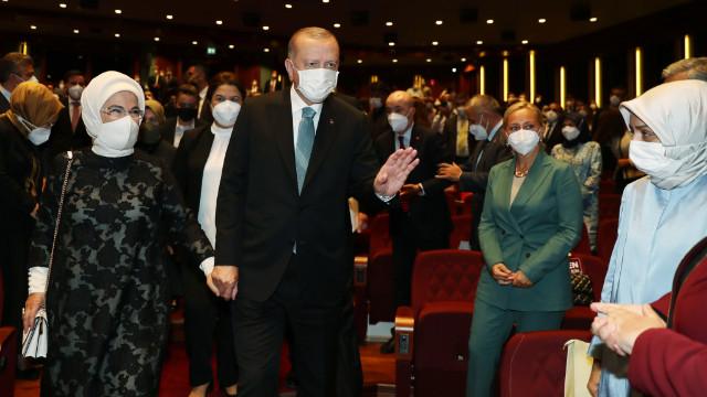 Erdoğan: Kadına yönelik şiddetle mücadelemiz İstanbul Sözleşmesi'yle başlamadı