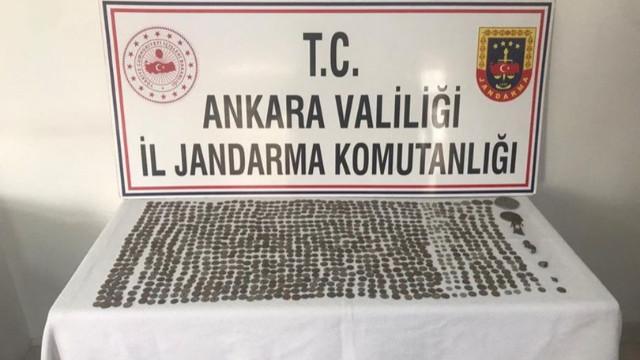 Ankara'da jandarmadan 'tarihi eser' operasyonu!