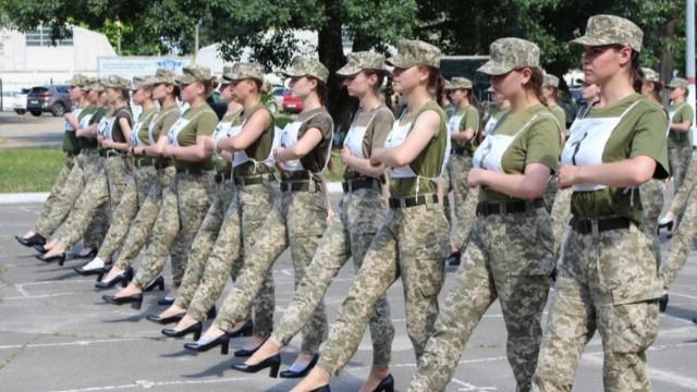 Ukrayna'da tartışmalı fotoğraf!