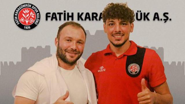 Salih Dursun resmen Fatih Karagümrük'te!