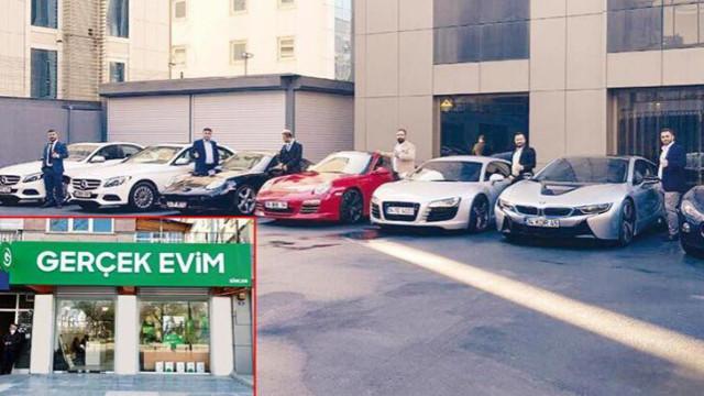 'Evim' görünümlü saadet zinciri! Markette reyoncuydu Ferrari aldı!