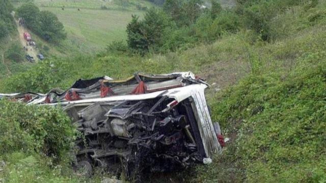 Bolivya'da yolcu otobüsü uçurumdan düştü: 34 ölü, 10 yaralı