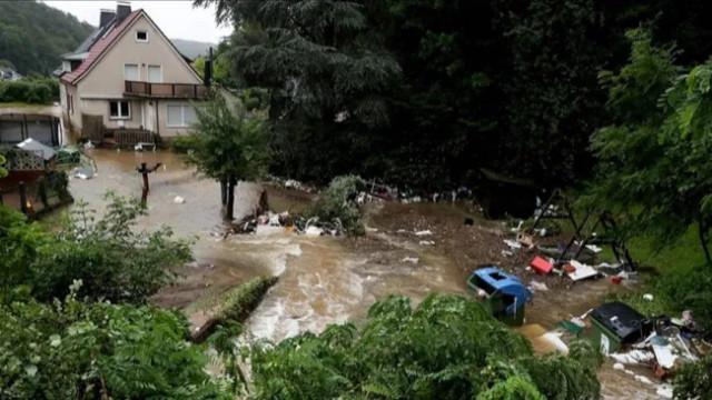 Almanya'daki sel felaketinde ölü sayısı 80'i aştı!