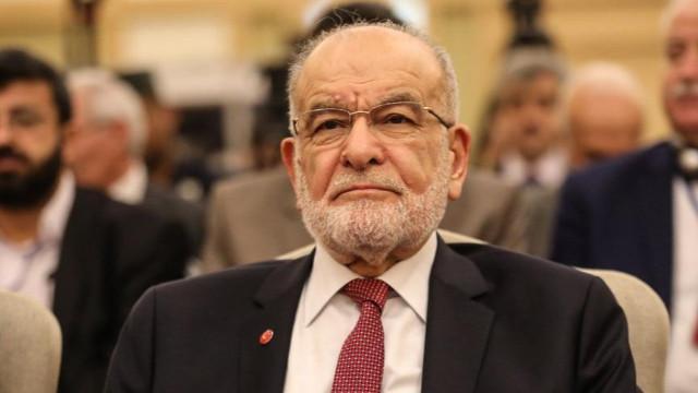 Saadet Partisi Lideri Karamollaoğlu: Şimdiden 'adayımız bu' desek paçavrasını çıkarırlar