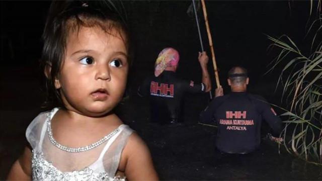 Antalya'da kayıp 2 yaşındaki Ecrin'den üzücü haber