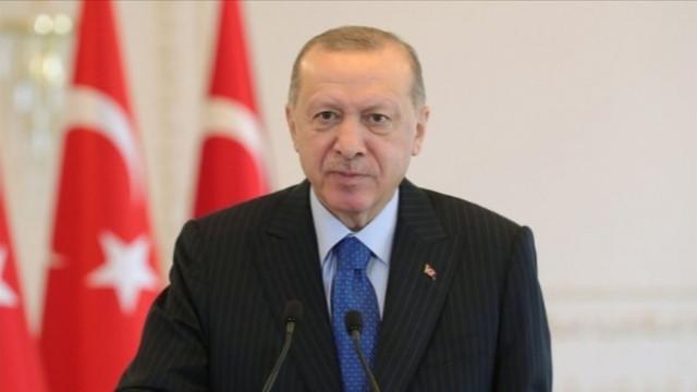 Cumhurbaşkanı Erdoğan'dan Kıbrıs mesajı: Kıbrıs'ın tanınması için her türlü gayreti gösteriyoruz