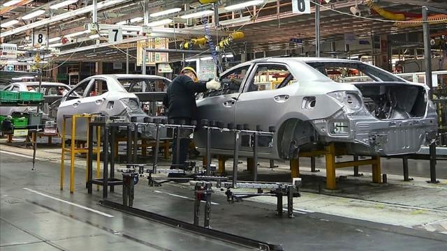 Toyota Tayland'daki tesislerinde üretimi durdurdu