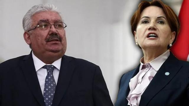 MHP'den Akşener'e sert tepki: Odun gibi kaba ifadelerini kınıyoruz