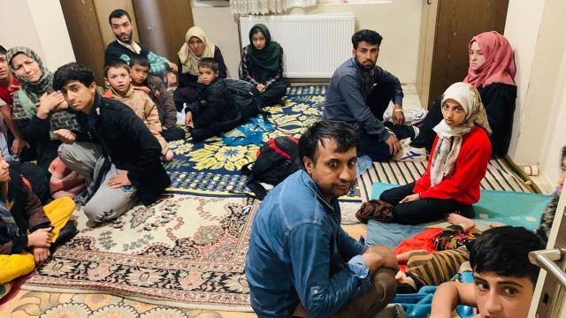 Van'da 115 düzensiz göçmen yakalandı
