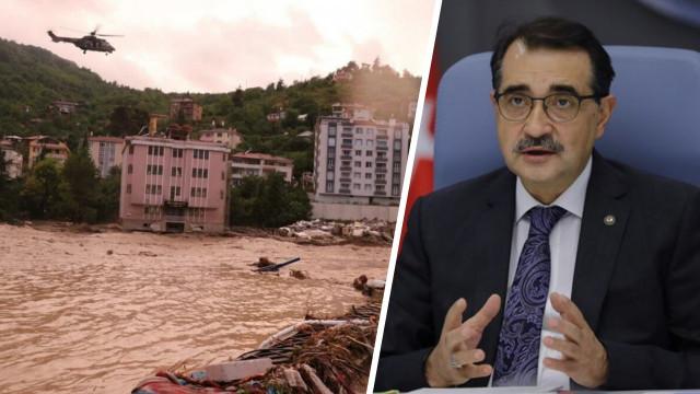 Enerji ve Tabii Kaynaklar Bakanlığı: Selden etkilenen tüm bölgelere elektrik sağlandı!