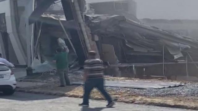 Son Dakika! İkitelli'de bina çöktü