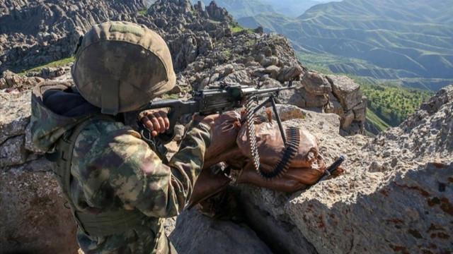 MSB duyurdu: 5 PKK'lı terörist etkisiz hale getirildi