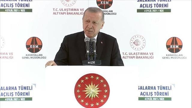 Erdoğan: 70 yıllık hayal gerçek oldu