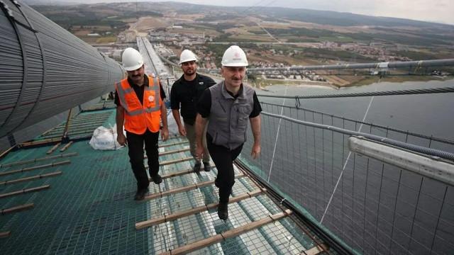 Bakan Karaismailoğlu'dan 1915 Çanakkale Köprüsü açıklaması