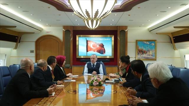 Cumhurbaşkanı Erdoğan: Başkanlık sisteminden memnunuz devam edeceğiz