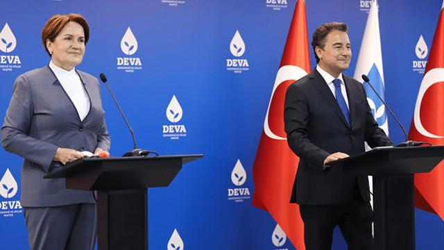 Akşener ve Babacan'dan parlamenter sistem zirvesi