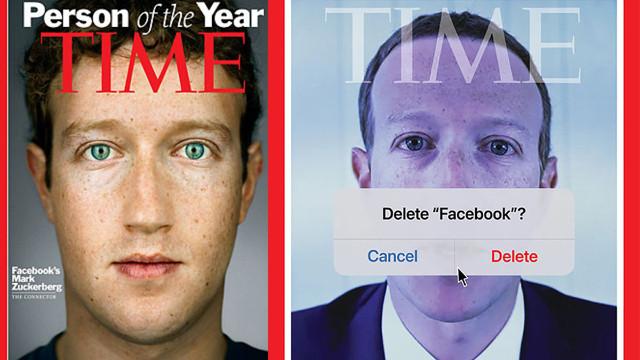 Zuckerberg 11 yıl sonra Time'a kapak oldu!