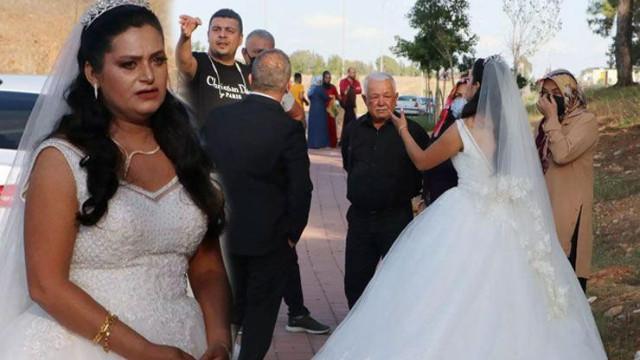 Düğün günü kabusu oldu! Fotoğraf çektirirken eşyalarını çaldılar