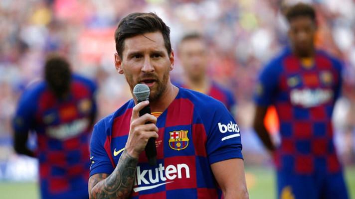 Messi'den ömürlük sözleşme!