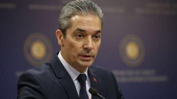"""Dışişleri Sözcüsü Aksoy'dan AB'ye """"Libya mutabakatı"""" tepkisi"""