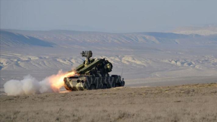 Gubadlı yakınlarında Ermenistan'a ait 2 uçak düşürüldü