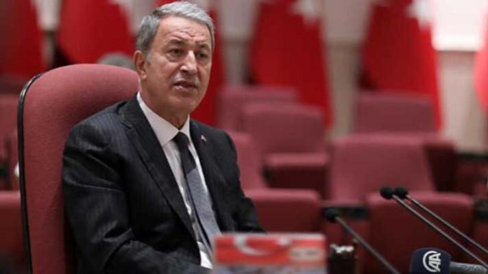 Milli Savunma Bakanı Akar'dan tepki: TSK'ya dil uzatanlara gereken ne varsa yapacağız