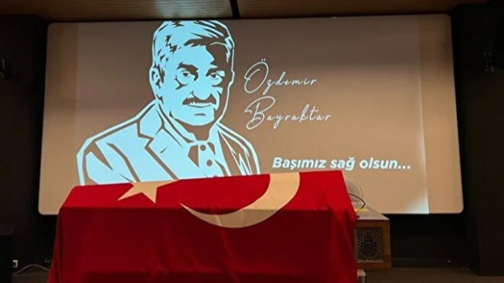 Özdemir Bayraktar'a veda