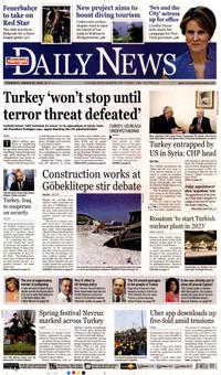Hürriyet Daily News Gazetesi