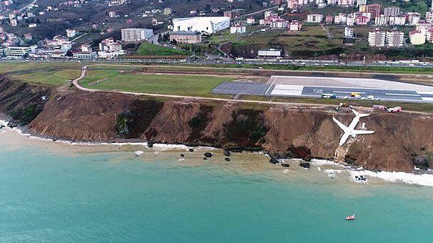 Trabzon Havalimanı'nda yolcu uçağı pistten çıktı - Page 3