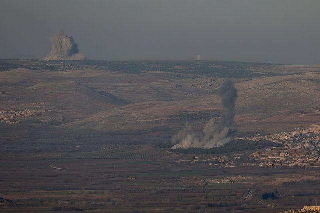 Afrin'den 'Zeytin Dalı Harekatı'ndan ilk kareler - Page 6