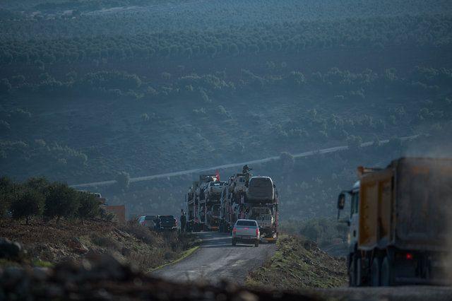Afrin'den 'Zeytin Dalı Harekatı'ndan ilk kareler - Page 7