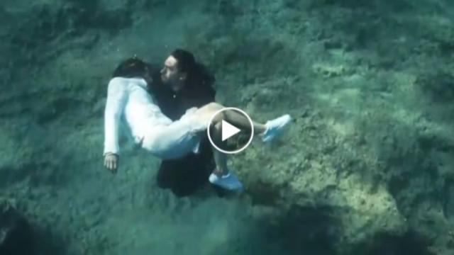 Sen Anlat Karadeniz su altı sahnesi nasıl çekildi? Sen Anlat Karadeniz kamera arkası