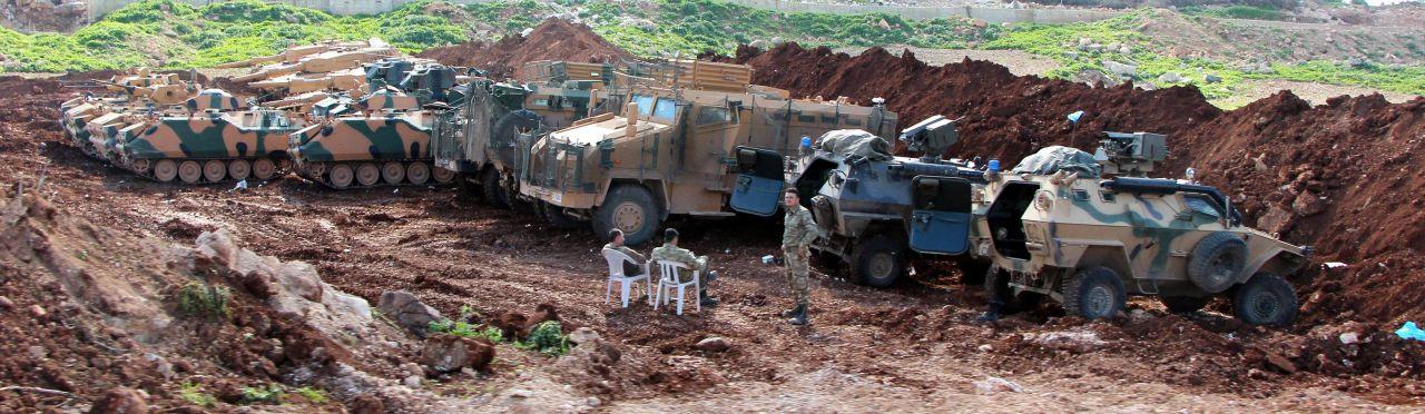 Namlular Afrin'e çevrildi - Page 1