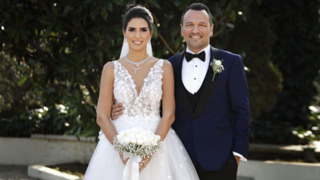 Ali Sunal ve Nazlı Kurbanzade evlendi