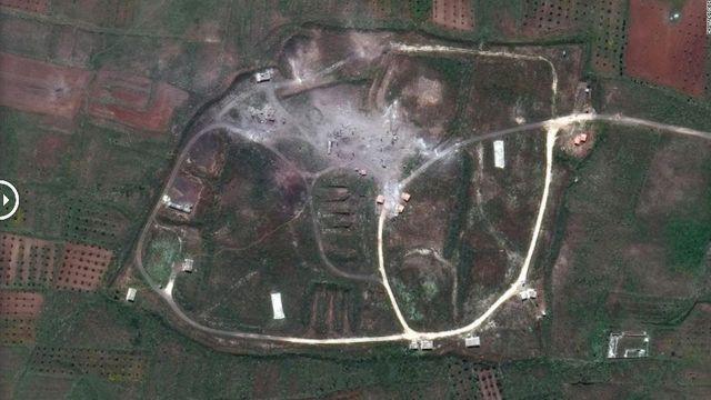 Suriye'de vurulan tesislerin uydudan görüntüleri yayınlandı - Page 2