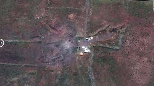 Suriye'de vurulan tesislerin uydudan görüntüleri yayınlandı - Page 4