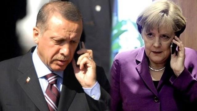 Cumhurbaşkanı Erdoğan, Merkel ve Ruhani'yle Gazze'yi görüştü