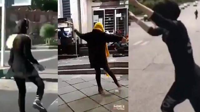 İranlı kadınların özgürlük dansı