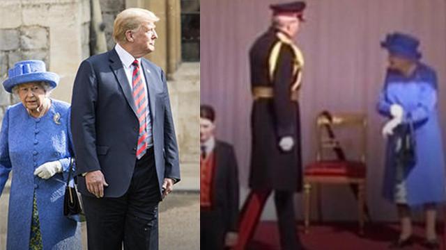 Trump Kraliçe'yi sinirlendirdi